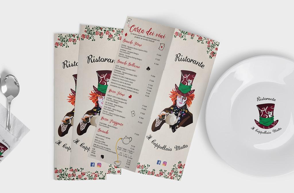 menu cappellaio